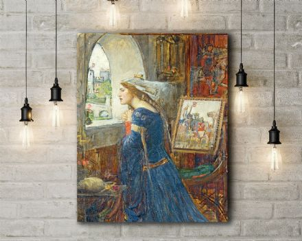 John William Waterhouse: Fair Rosamund. Fine Art Canvas.